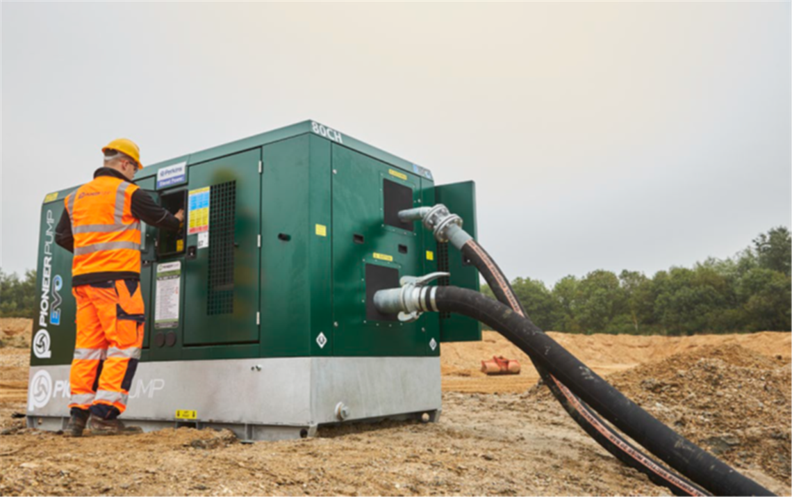 Pioneer Pump's new EVO range now has an all-new green exterior